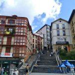 Fontaneros en el casco viejo de Bilbao